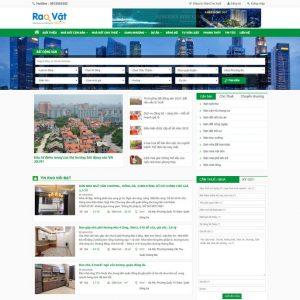 Web Rao Vặt đăng Tin Bất động Sản WDT 133