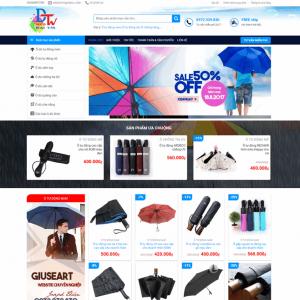 Web Bán Hàng Thời Trang Phụ Kiện WDT 138