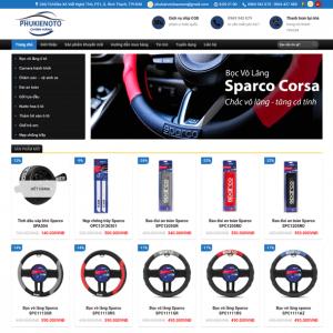 Web Bán Hàng Phụ Kiện ô Tô WDT 122