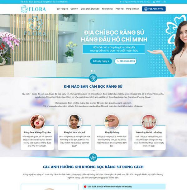 Theme Wordpress Nha Khoa Tham My
