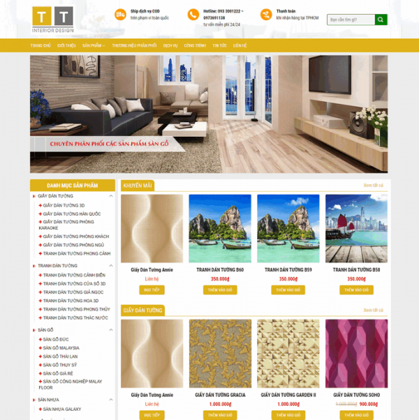 Theme Wordpress Noi That Dep