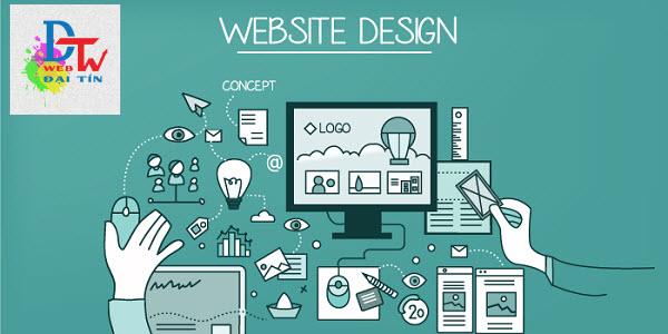 Thiết kế web theo yêu cầu Web Đại Tín