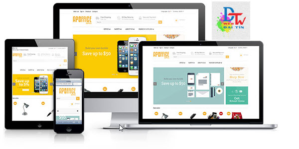 Thiết kế website bán hàng trực tuyến chuẩn seo