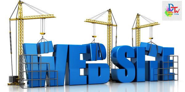 Thiết kế website chuyên nghiệp Web Đại Tín