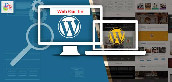 Thiết kế website wordpress giá rẻ Web Đại Tín