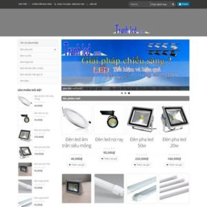 Web Bán đồ điện Tử WDT 111