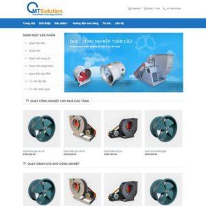 Web Bán Hàng Máy Móc điện Tử WDT 116