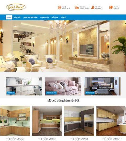 Web Bán Hàng Nội Thất WDT 125