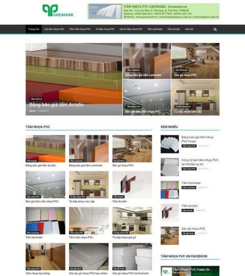 Web Công Ty Giới Thiệu Sản Phẩm WDT 129