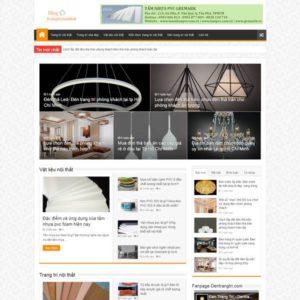 Web Trang Trí Nội Thất WDT 133