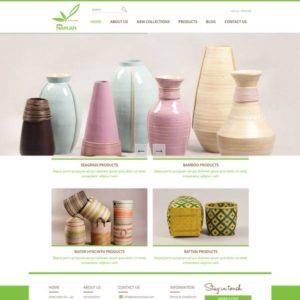 Web Bán Hàng Thủ Công Mỹ Nghệ WTD 107