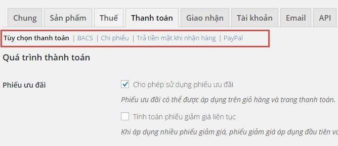Cai Dat Thanh Toan Trong Woocommerce 02